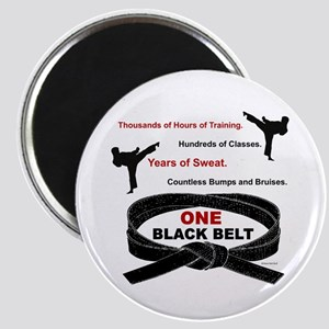 ONE Black Belt 1 Magnet