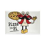 Pizza Pi Magnets
