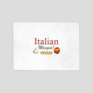 ITALIAN MANGIA 5'x7'Area Rug