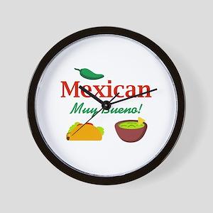 MEXICAN MUY BUENO Wall Clock
