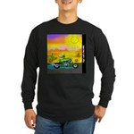 Papa was a Bad Seed Long Sleeve Dark T-Shirt