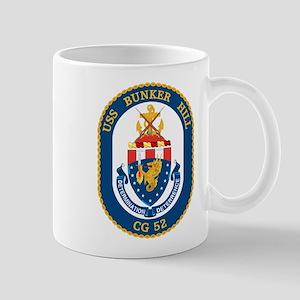 USS Bunker Hill CG-52 Mugs