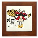 Pizza Pi Framed Tile
