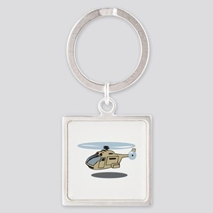 MILITARY HELICOPTER Keychains