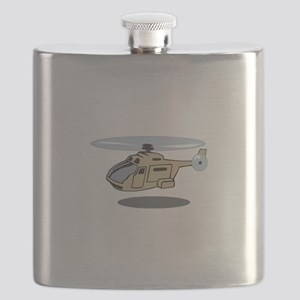 MILITARY HELICOPTER Flask