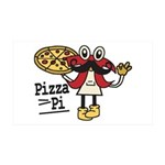 Pizza Pi Wall Decal