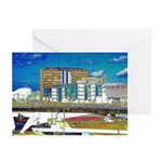 De Telegraaf building Greeting Cards (Pack of 6)