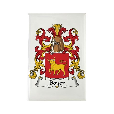 Boyer Rectangle Magnet (10 pack)