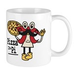 Pizza Pi Mugs