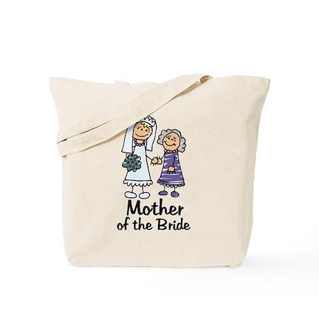 Cartoon Bride's Mother Tote Bag