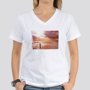 Hope's Horizon Women's V-Neck T-Shirt