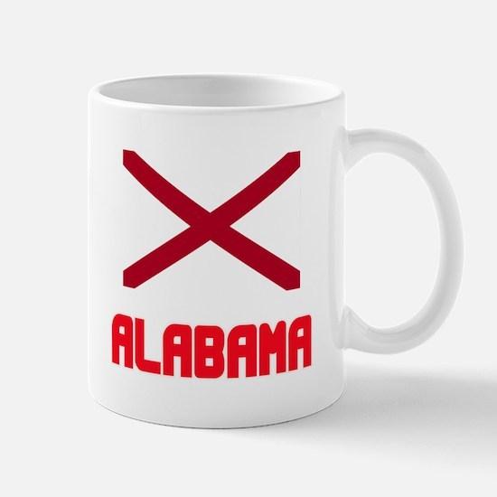 Alabama Flag Design Mugs