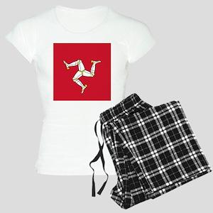 Flag of Mann Women's Light Pajamas