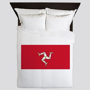 Flag of Mann Queen Duvet