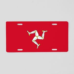 Flag of Mann Aluminum License Plate