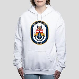 USS Cowpens CG-63 Women's Hooded Sweatshirt