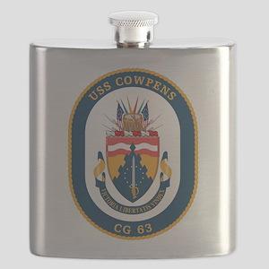 USS Cowpens CG-63 Flask