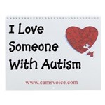 Autism Awareness Recovery Hope Yearly Calendar