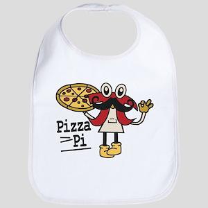Pizza Pi Baby Bib