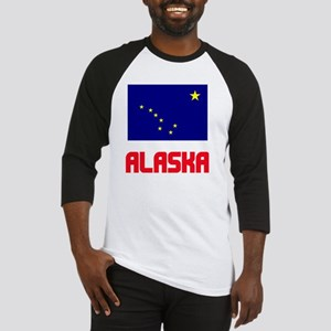 Alaska Flag Design Baseball Jersey