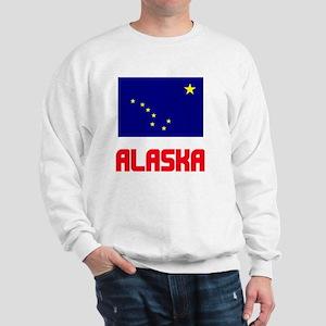 Alaska Flag Design Sweatshirt
