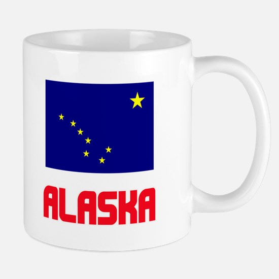 Alaska Flag Design Mugs
