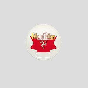 Isle of man ribbon Mini Button