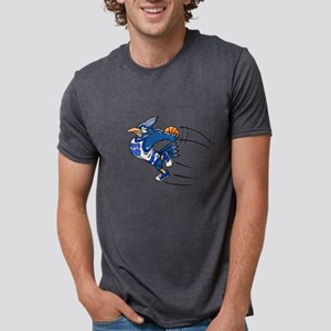 B is for blue jay Mens Tri-blend T-Shirt