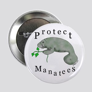 Protect Manatees Button
