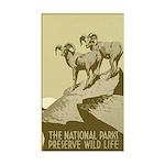 NATIONAL PARKS vinyl sticker