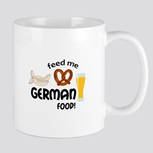 FEED ME GERMAN FOOD Mugs