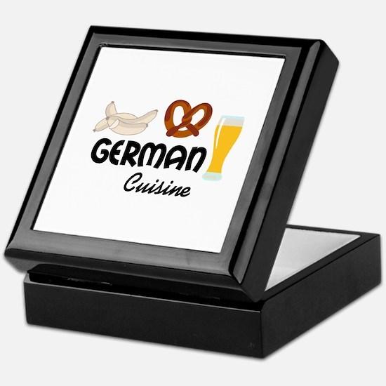 GERMAN CUISINE Keepsake Box