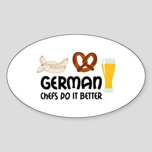 GERMAN CHEFS Sticker