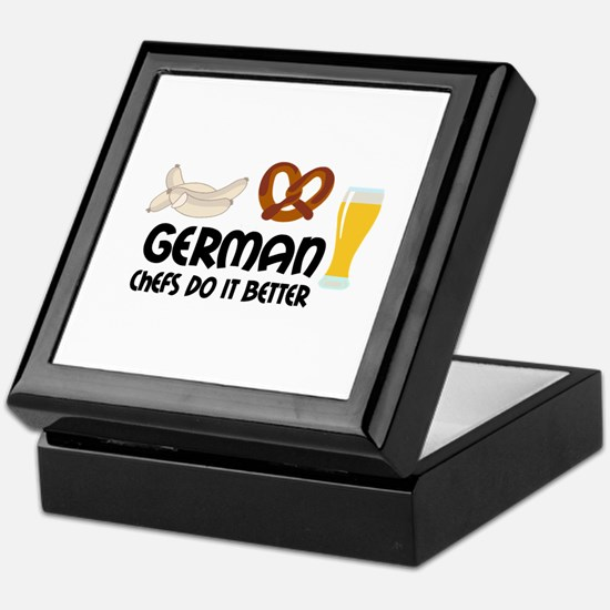 GERMAN CHEFS Keepsake Box