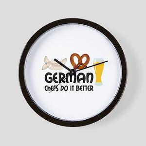 GERMAN CHEFS Wall Clock