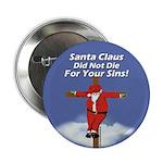 Santa Cross Button