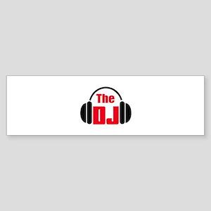 THE DISC JOCKEY Bumper Sticker