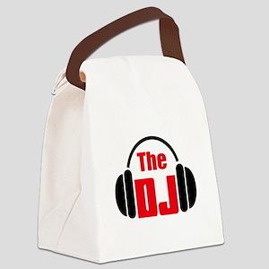 THE DISC JOCKEY Canvas Lunch Bag