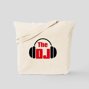 THE DISC JOCKEY Tote Bag