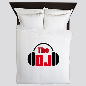 THE DISC JOCKEY Queen Duvet