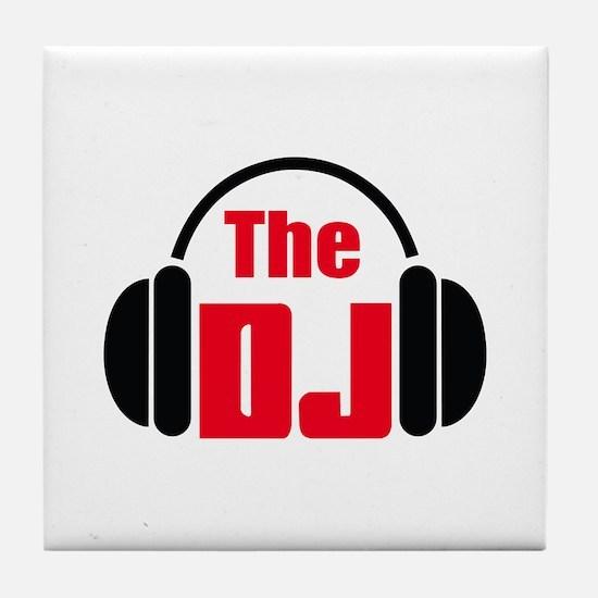 THE DISC JOCKEY Tile Coaster