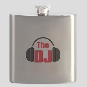 THE DISC JOCKEY Flask