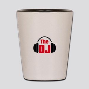 THE DISC JOCKEY Shot Glass