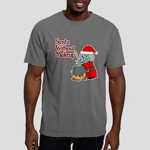 Santa Won't Be Coming Mens Comfort Colors Shirt
