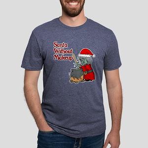 Santa Won't Be Coming Mens Tri-blend T-Shirt