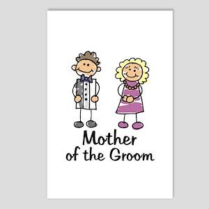 Cartoon Groom's Mother Postcards (Package of 8)