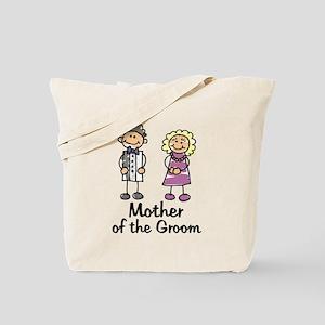 Cartoon Groom's Mother Tote Bag