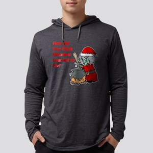 How Reindeer Fly Mens Hooded Shirt