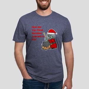 How Reindeer Fly Mens Tri-blend T-Shirt