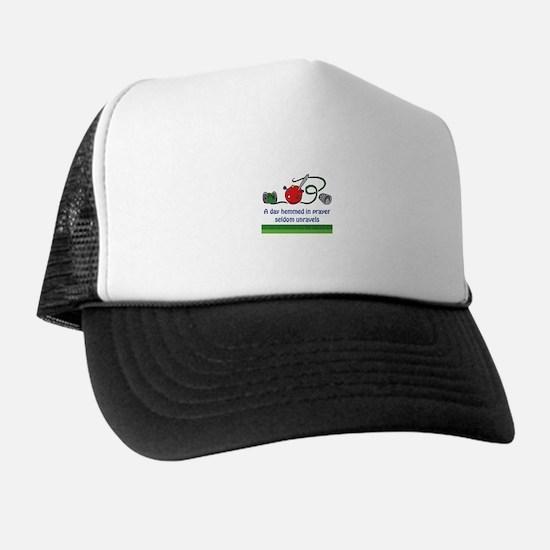 HEMMED IN PRAYER Trucker Hat
